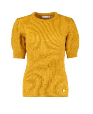 Gele dames trui - Harper & yve - Hellen ju - 600 green
