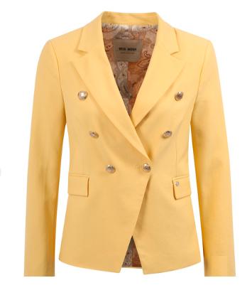 Gele dames blazer - Mos Mosh - 123600 - 204