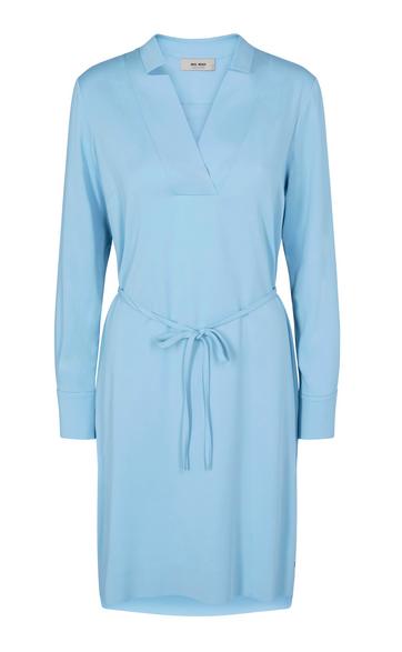 Blauwe dames jurk - Mos Mosh - 132182 - 454
