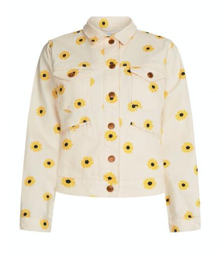 Geprint dames jack - Fabienne Chapot - Cyprus jacket - off white