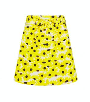 Gele geprinte dames rok - Fabienne Chapot - Harry skirt - oww white