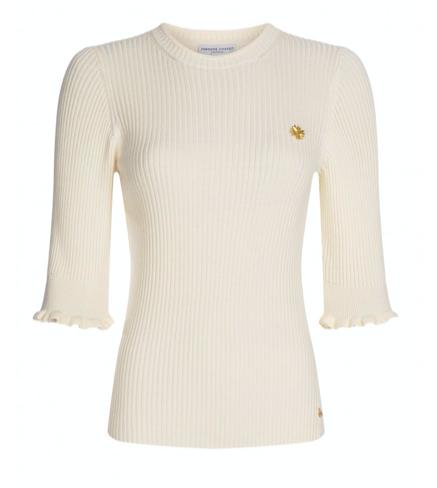 Witte dames top Fabienne Chapot - Sanne Short sleeve pull