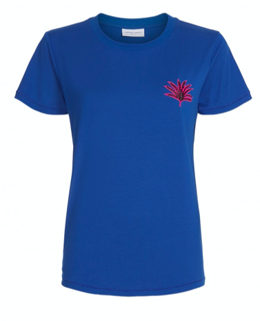 Blauw dames t-shirt - Fabienne Chapot - Joanne - fan blue