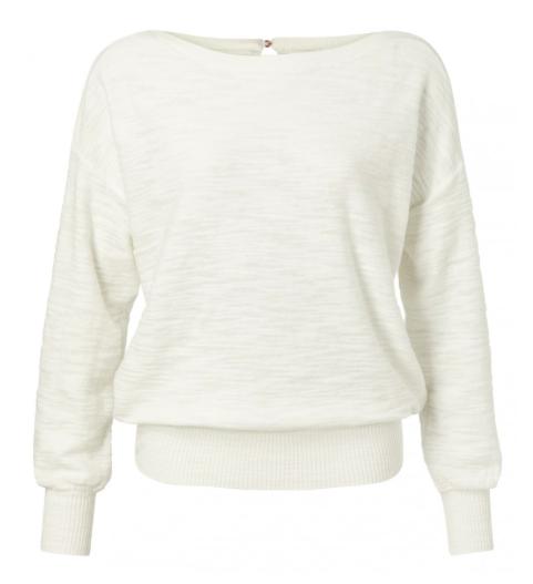 Witte dames trui - YAYA - 1000294-013 - 99691