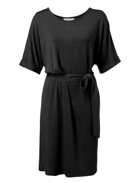 Zwarte dames jurk - YAYA - 1809233-013 - 94305