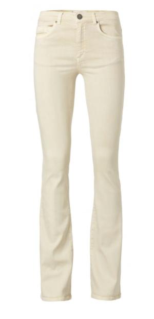 Zand kleurige dames broek - YAYA - 120116-013 - 40002