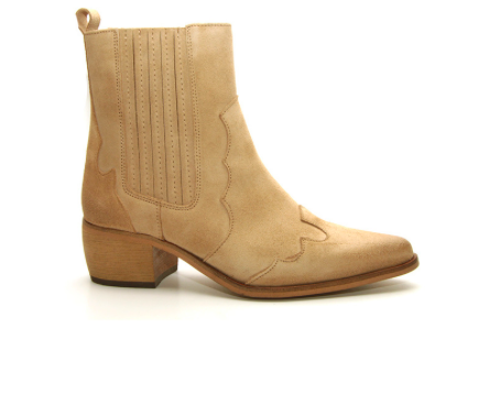 Bruine dames laars - Shoecolate - capuchino
