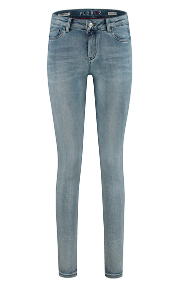Blauwe dames jeans - Florez - 20007-4