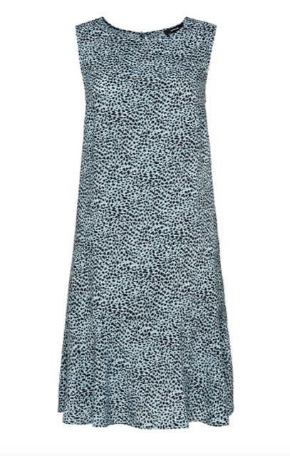 Blauwe dames jurk - Opus - Wenola animal - 6075