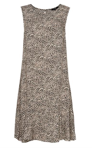 Zwart wit geprinte dames jurk - Opus - Wenola animal - 900