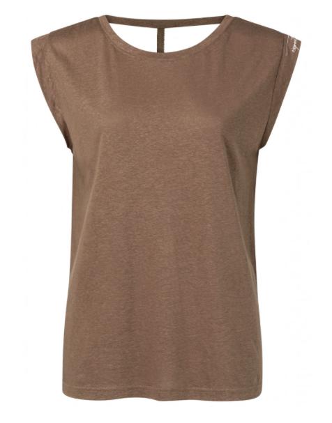 Bruine dames top - YAYA - 90809