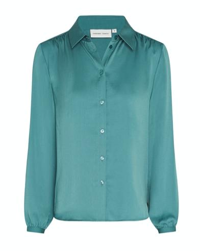 Blauwe dames blouse Fabienne Chapot - Mira Blouse dusty blue