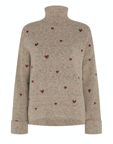 Grijze dames trui - Fabienne Chapot - Olivia pullover - 1507
