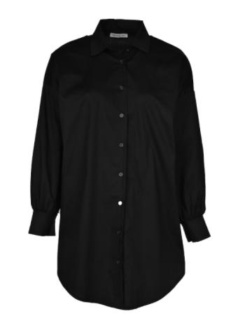 Zwarte dames blouse - Typical Jill - GINNY - black