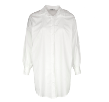 Witte dames blouse - Typical Jill - GINNY - white