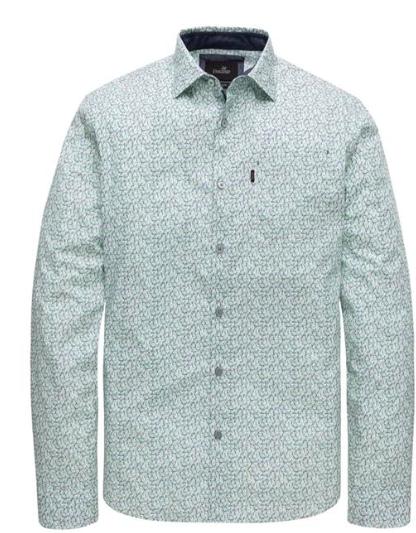 Witte heren blouse - Vanguard - VSI207242 - 7003