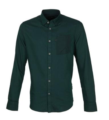 Donkergroen heren overhemd - Vanguard - VSI207254 - 6085