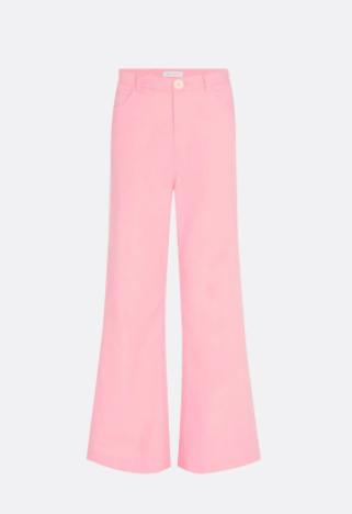roze dames broek - Fabienne Chapot - sofi trousers - trippy pink