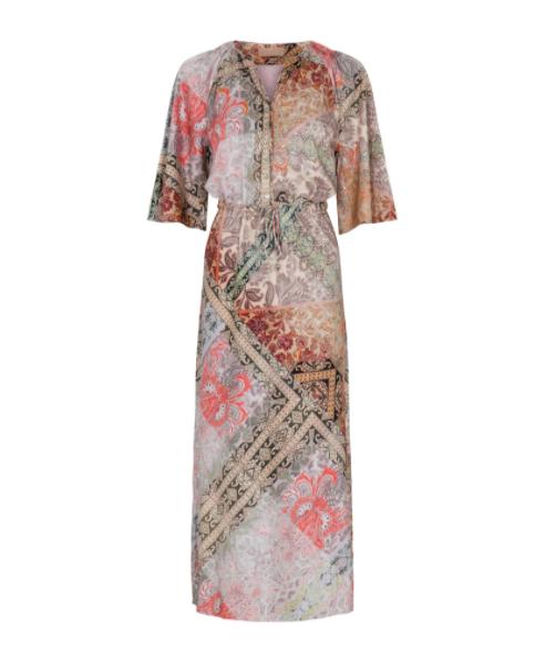 Geprinte dames jurk - Gustav - 40518 - 7368-0-6023