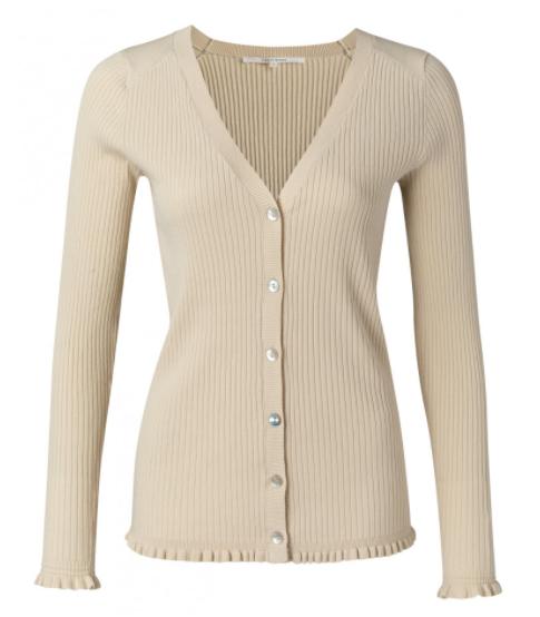 Geel dames vest - YaYa - 1010119 - 41108