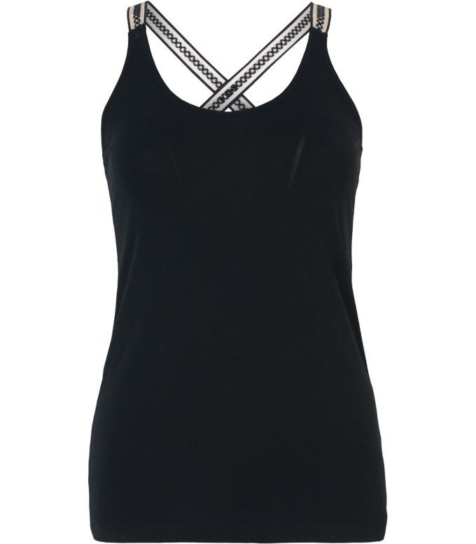Zwarte dames top Summum - 3s4030