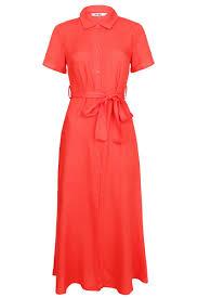 Rode dames jurk NA-KD - 1018-002826