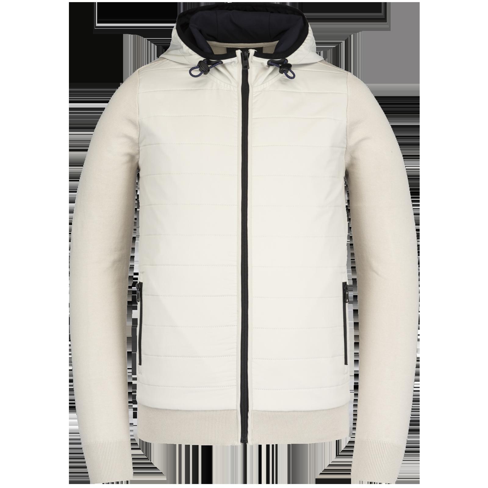 witte heren jas - vanguard - 8023