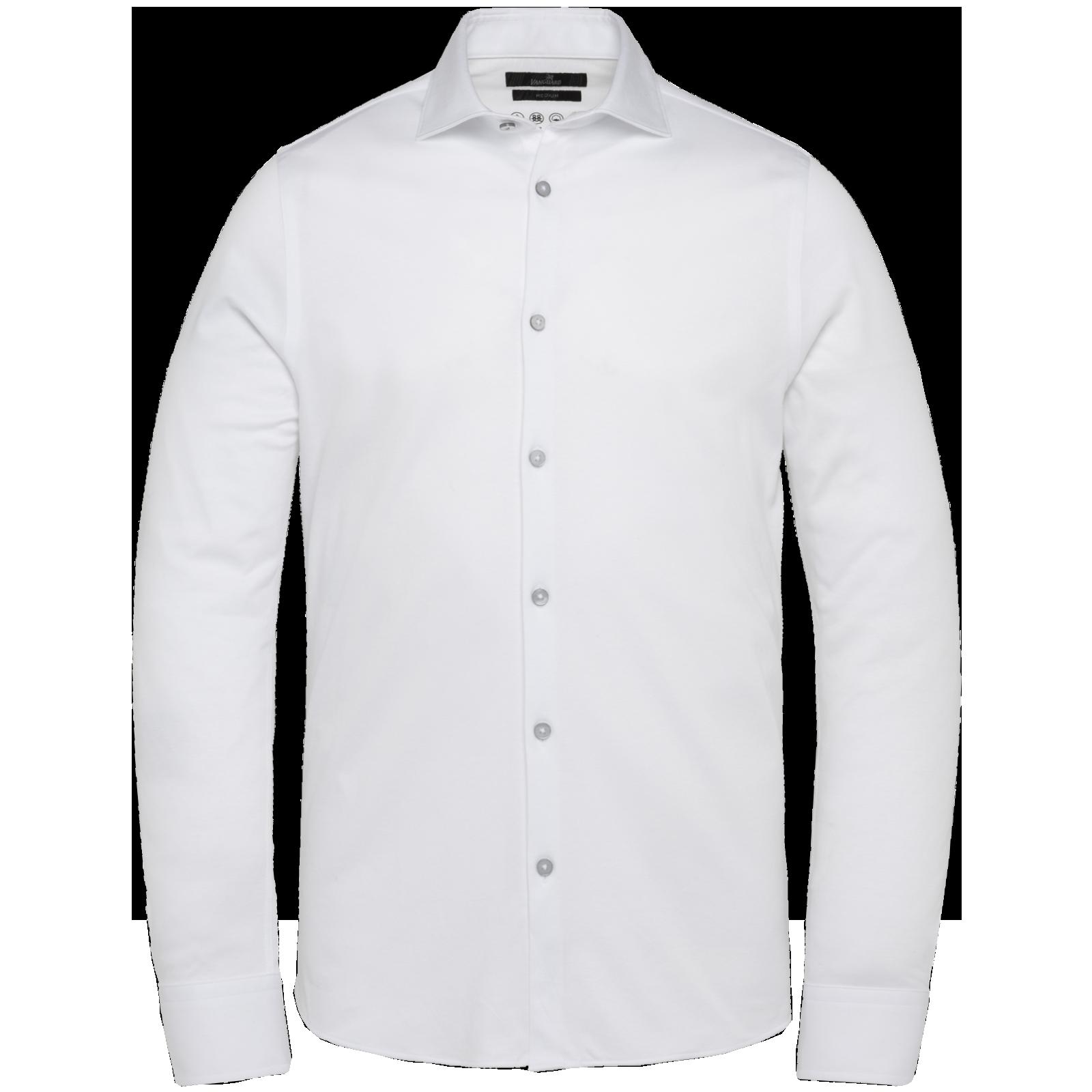 witte heren blouse - vanguard - 7003