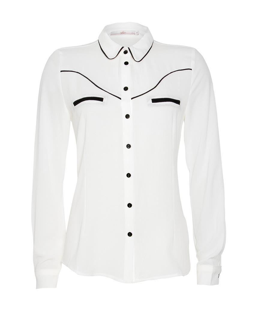 Witte dames blouse Aaiko - Finou 114300