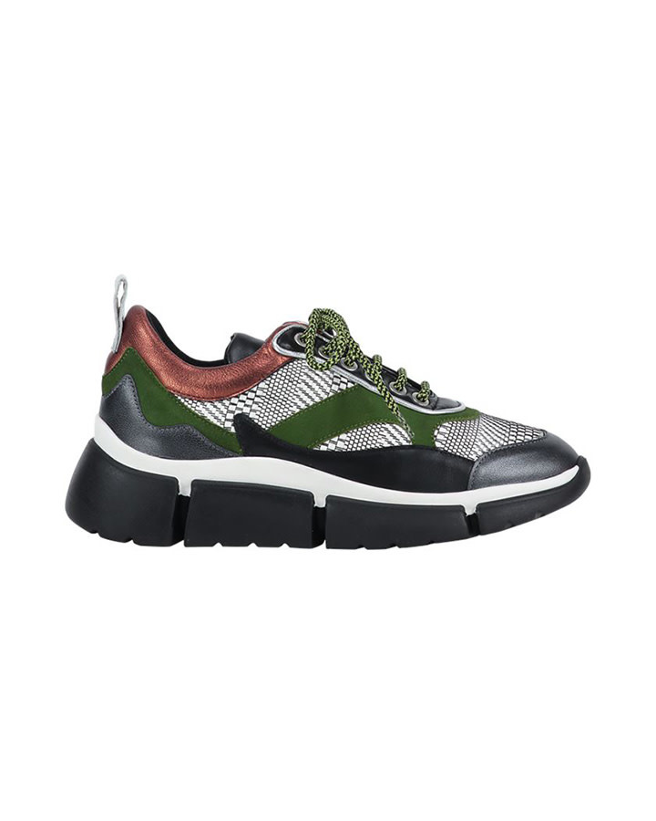 Dames sneaker Aaiko - Manhatten - Jungle Green