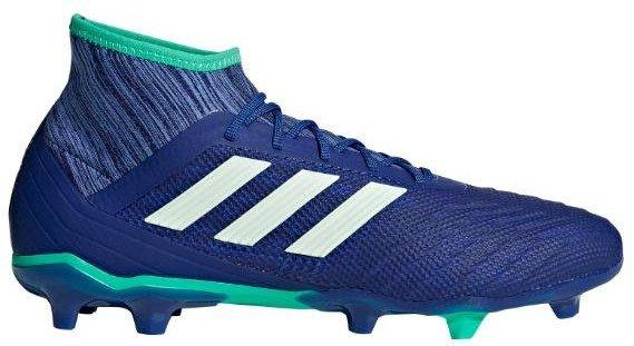 6c2c42120f3 Blauw groene adidas voetbalschoen Adidas Predator 18.2 FG - CP9293