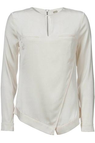 Ivoor keurige blouse Gustav 18633 7046