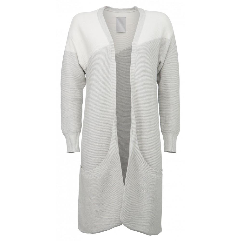 Light grey melange vest YA YA 004027612