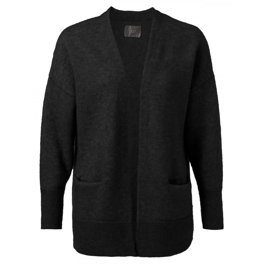 Zwart dames vest YAYA - 00001