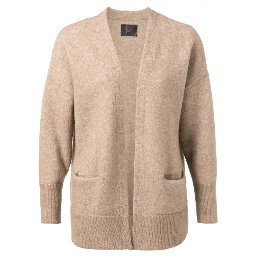 Bruin vest met zakken YAYA 101068-924 - 99959