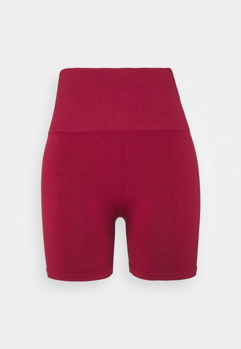 Bordeaux rode dames shorts - Björn Borg - Sthlm Seamless Shorts - RD004
