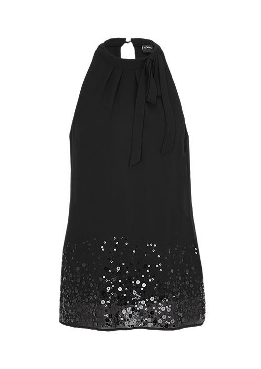 Zwarte dames top S Oliver - 11.611.13.4700