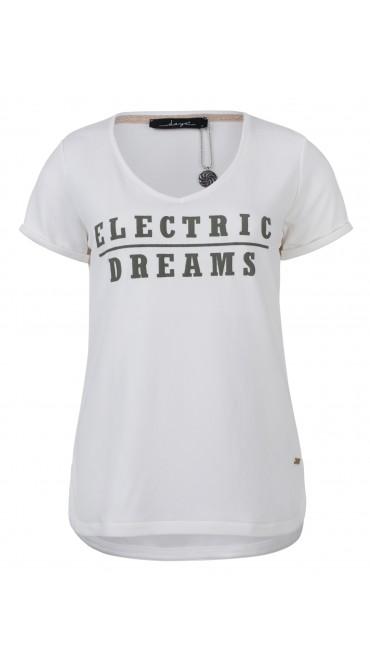 Wit dames shirt Dayz - Cinnamon