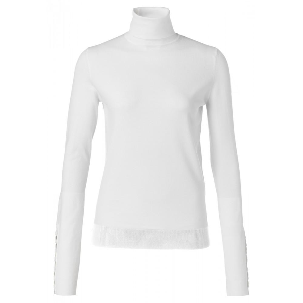 Witte dames top met col YAYA - 1000216-924 - 99691