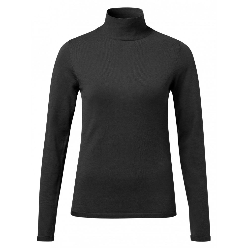 Zwarte dames col YAYA - 100021-923 - 00001