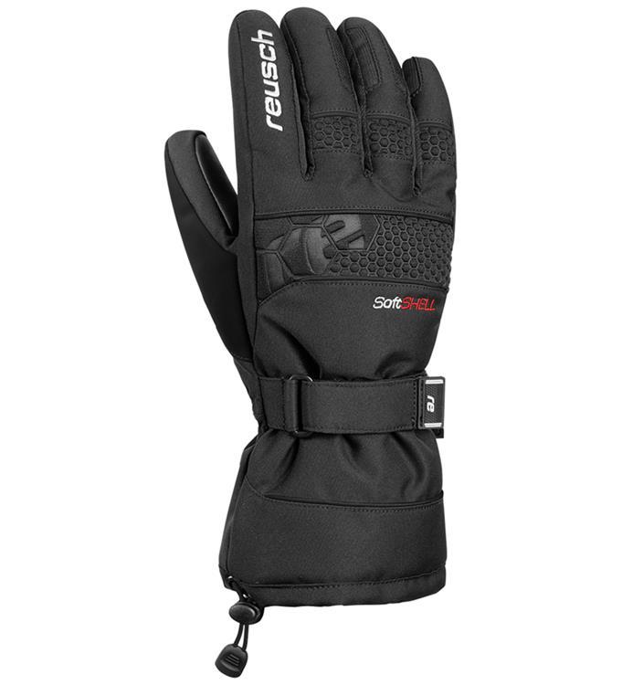 Zwarte heren handschoenen Reusch - Connor