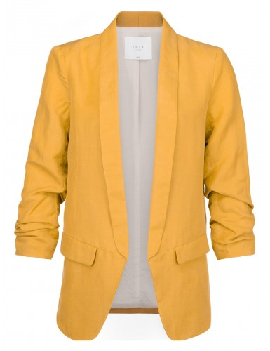 Gele dames blazer Yaya - 050405