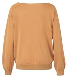 Gele dames linnen sweater - Ya Ya - 100045161143