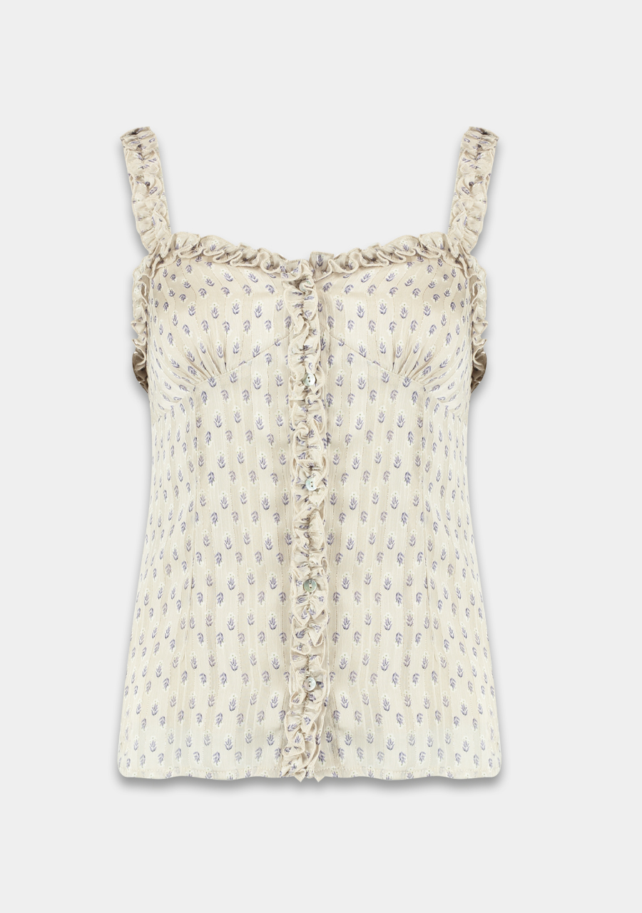 Ivoor dames blouse - Harper & Yve - demi ss21x410 - ivory