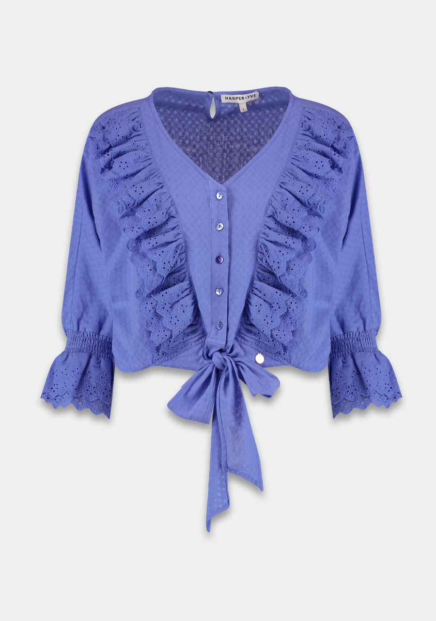 Paarse dames blouse - Harper & Yve - ss21x615 donna