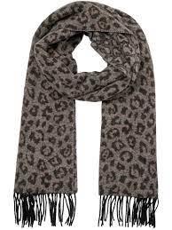 Grijze dames sjaal - Mos Mosh - leo scarf - 139620-494