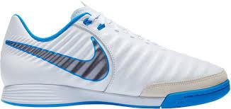 Wit Blauwe Kids zaalvoetbalschoen Nike JR LEGENDX 7 ACADEMY IC - AH7257-107