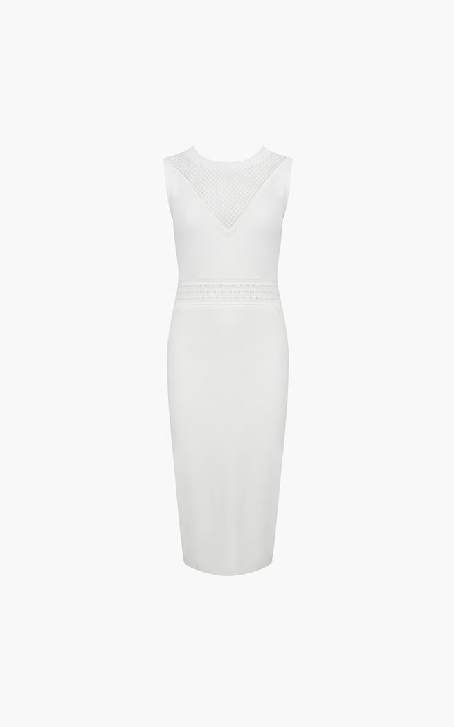 Witte dames jurk Supertrash - Python