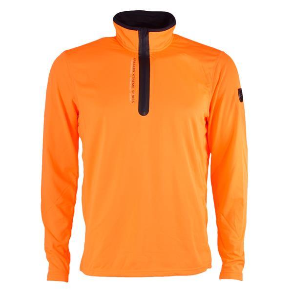 Oranje heren ski pully Falcon - Bob