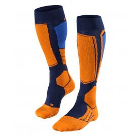 Blauw/Oranje sokken - Falke - Marine - 6120